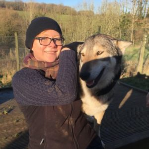 Wolf encounter gift experience day out in Bristol.