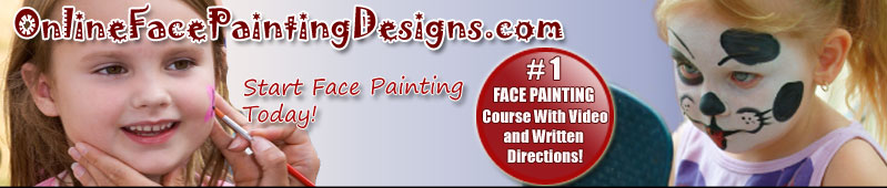 Online face painting training course.