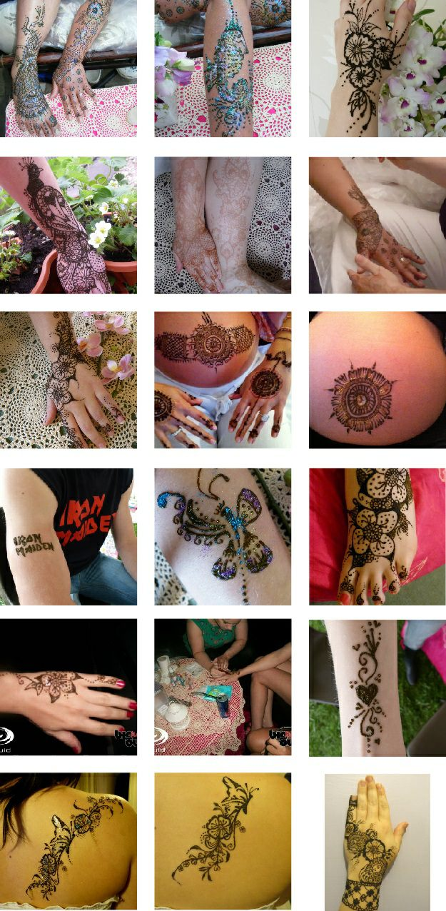 Henna artist tattoo designs in Gloucestershire and Bristol.